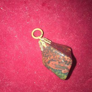 Jewelry - Vintage Geode/Stone Pendant